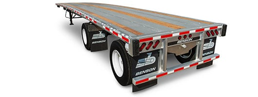 Benson steel flatbed trailer